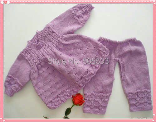 Baby Knitting Pattern For Newborn Baby Sweater And Baby Pants