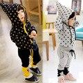 Anlencool Nueva Apresurado El Envío Libre 2017 resorte Del Bebé Trajes para Bebés Pentáculo Piezas Traje Coreano de Los Niños de Dos piezas Sistema de la ropa