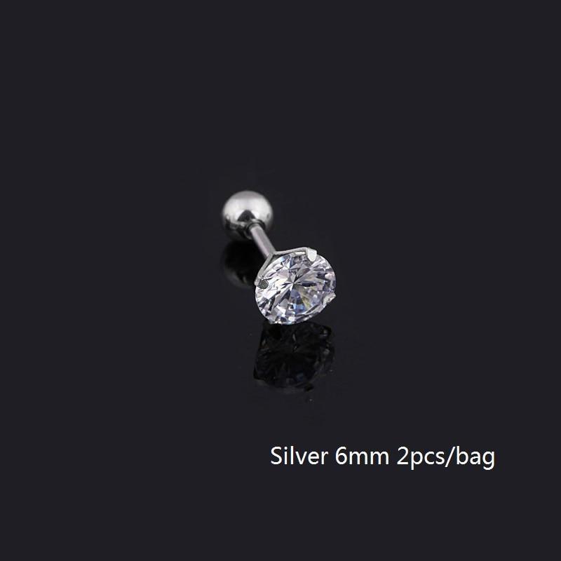 6mm silver