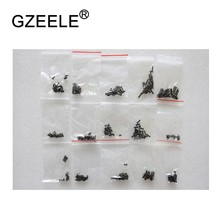 GZEELE new 300 Pcs Laptop Screws Set Kit with case Computer Repair Screw Set Laptop repair screws 15 specifications set black(China)