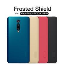 For Xiaomi redmi K20 Case redmi K20 pro Cover NILLKIN Super Frosted Shield Matte PC back cover case gift phone holder стоимость