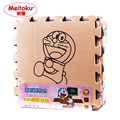 Bebê jogar mat puzzle de espuma eva meitoku/desenhos animados almofada da esteira do exercício/esteiras de bloqueio para kids30x30cm 1 cm de espessura 9 pçs/set