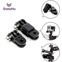 2016 New Hot Gopro Accessories Straight Joints For Gropro Hero 4 3+ 3 sjcam sj4000  xiaomi yi action camera accessories GP16