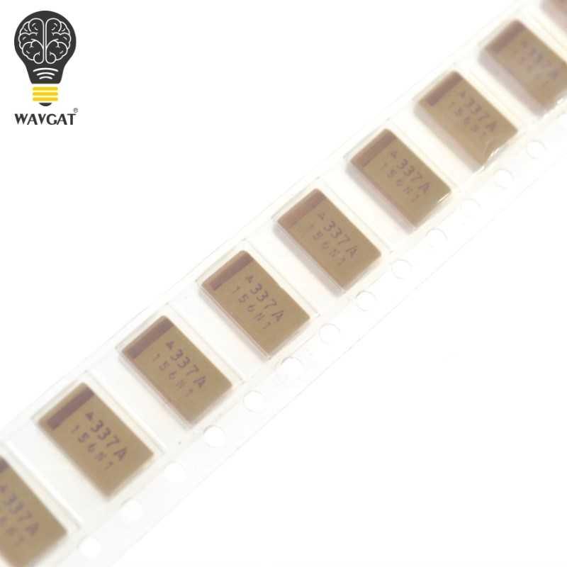 10Pcs//lot 6.3V 330UF D 7343 SMD Surface Mount Tantalum Capacitors TAN.Cap 20/% T520D337M006ATE045