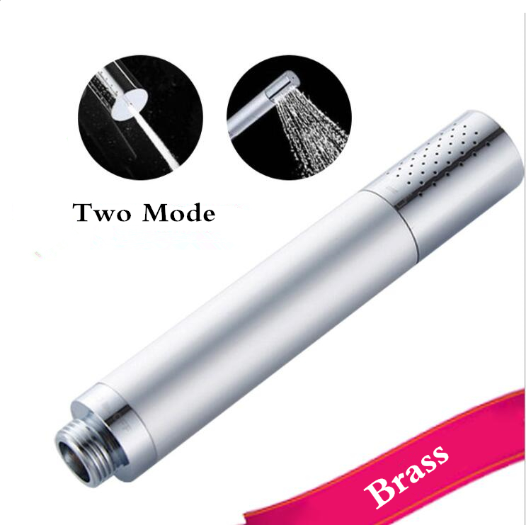 Brass Two Mode Handheld Shower Head Mini Shower .Bathroom Clean Bidet Washing Unisex Private Parts Cleaning