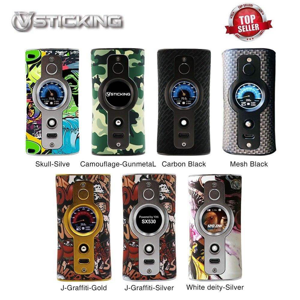 D'origine 200 W Vsticking VK530 boîte de tc MOD avec YiHi SX530 Puce et SXi-Q Système batterie 18650 Batterie vapoteuse vs Luxe Mod/Glisser 2