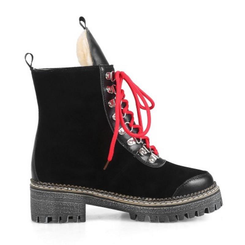Zapatos Correa Cortas Mujer blanco Remaches Con Botas Planas Para Moda Invierno De Media Cruzada Negro amarillo Talla Aicciaizi Pantorrilla 43 32 Clásicas qSzzwC
