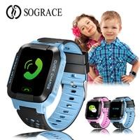 Kids Smart Watch Wristwatch Waterproof Baby Watch With Remote Camera SIM Calls Gift For Children pk dz09 gt08 a1 SmartWatch