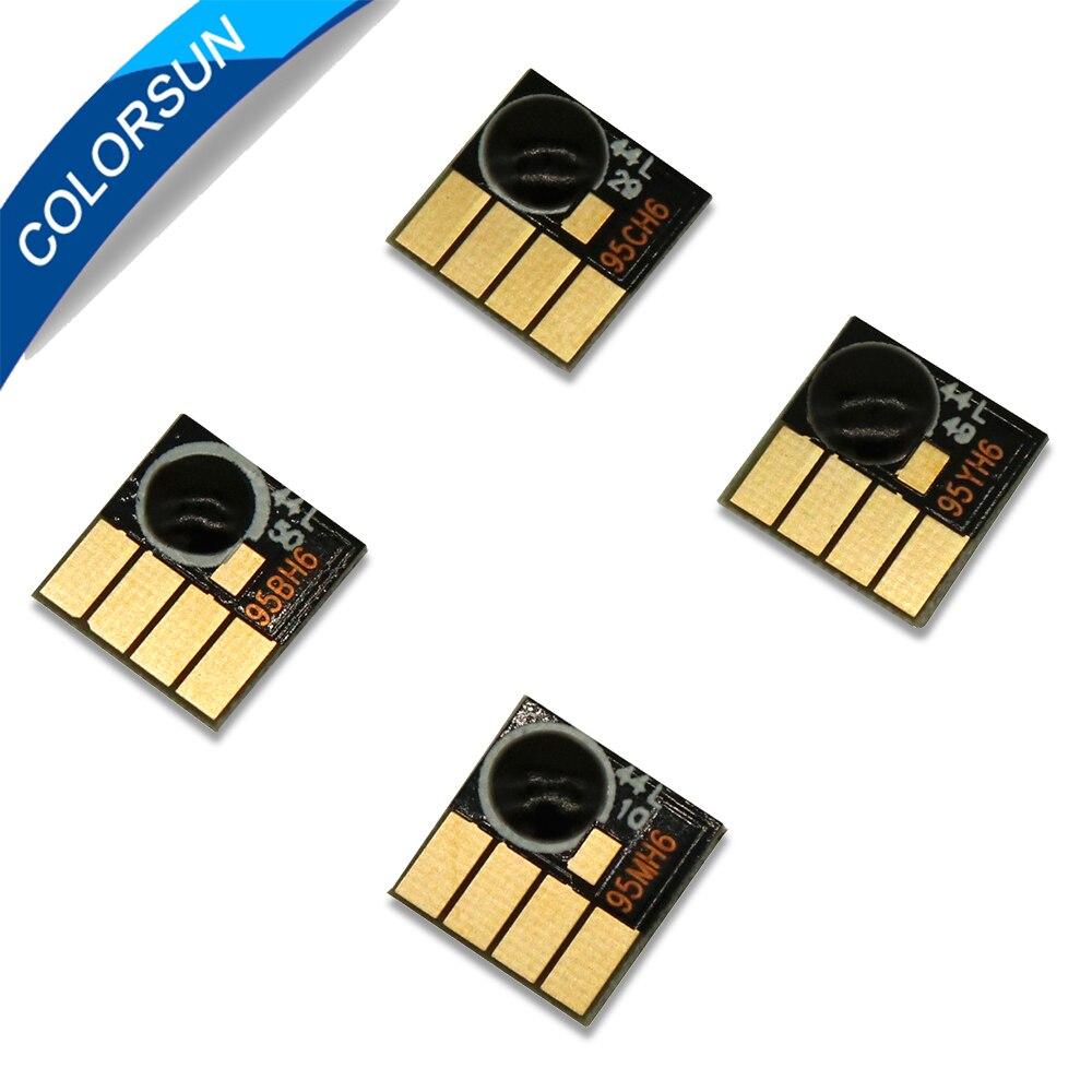Colorsun para Hp950 para HP 950 951xl cartucho de tinta arco chips para HP 8100/8600/8610/8615/8625/8660/8680 impresora auto rejuego chips Tira LED SMD 2835 · Tiras LED Flexibles Impermeables IP67 Chip LED 2835 con transformador