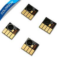 Colorsun para Hp950 para HP 950 951xl tinta cartucho arco chips para HP 8100/8600/8610/8615 /chips de reinicio automático de la impresora 8625/8660/8680