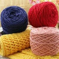 Wholesale 200g 2 Balls Merino Wool Yarn Milk Cotton Knit Thick Yarns For Knitting Super Soft