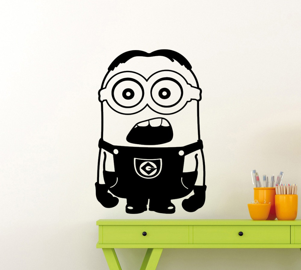 Minions Wall Decals PromotionShop For Promotional Minions Wall - Minion wall decals