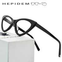 Acetate Optical Prescription Glasses Frame Women Brand Designer Cat Eye Eyeglasses 2019 New Fors Ladies Cateye Spectacle Eyewear