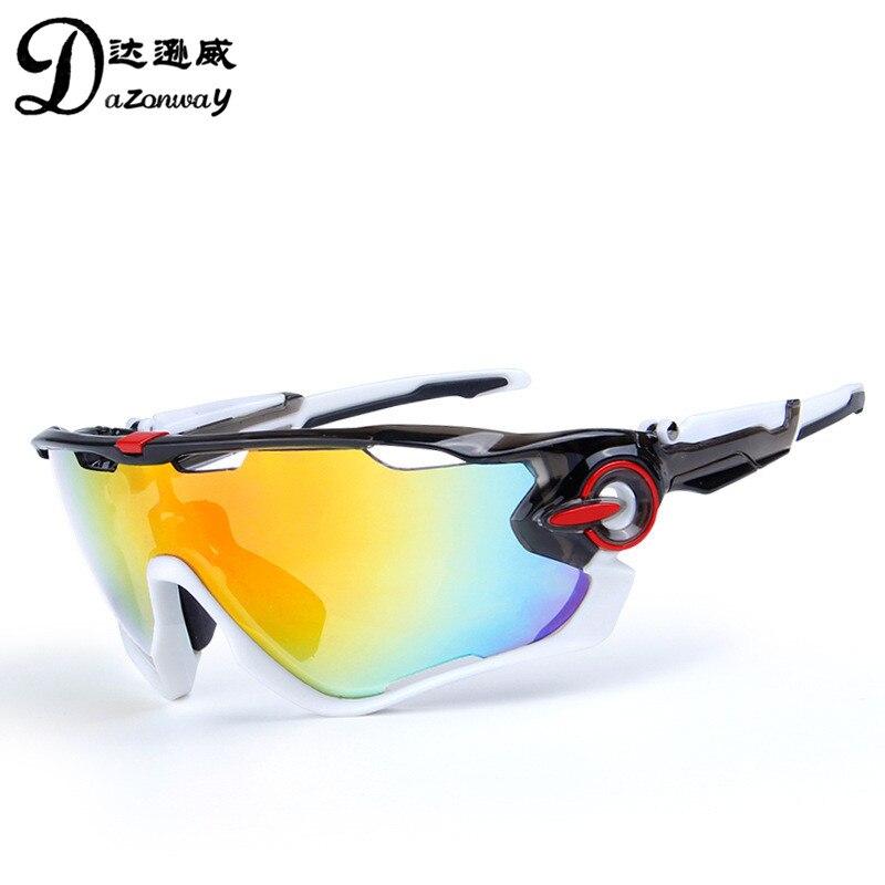 014f0a59883 5 Lens Men s Polarized Cycling Sunglasses UV400 Road Bike Eyewear Sport MTB  Bicycle Sunglasses Fishing Skiing