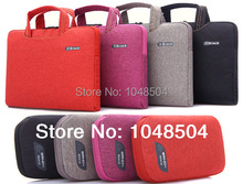 2014 New Denim Laptop Sleeve Bag Case Carrying Handle Bag For 13 13.3 14 14.1 15 15.4 15.6 Inch Apple Dell Notebook Netbook PC
