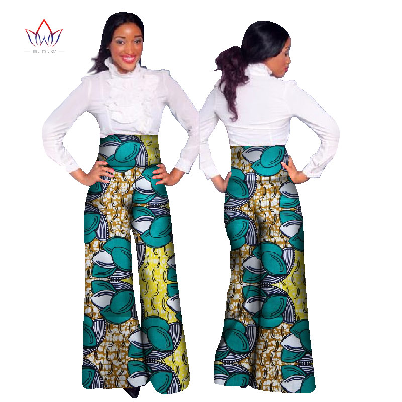 African Print Wide Leg Pants | Pant So