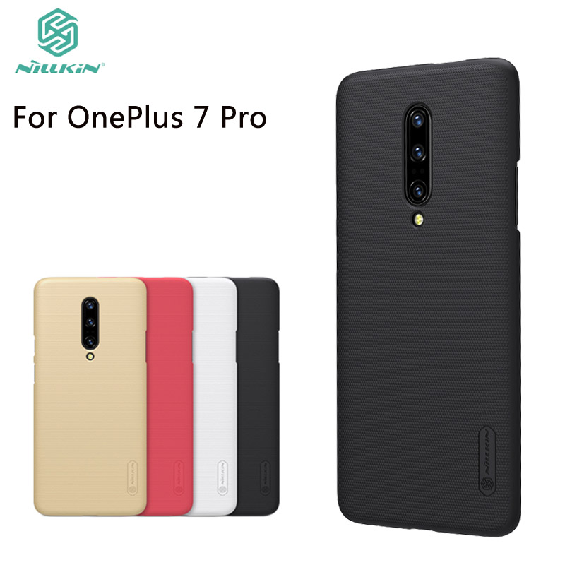 Nilkin For OnePlus 7 Pro Case Cover Nillkin Frosted Shield Hard PC Back Phone