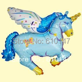 100x88CM large balloon 2pcs/lot unicorn balloon foil balloon,helium balloon birthday toys for party