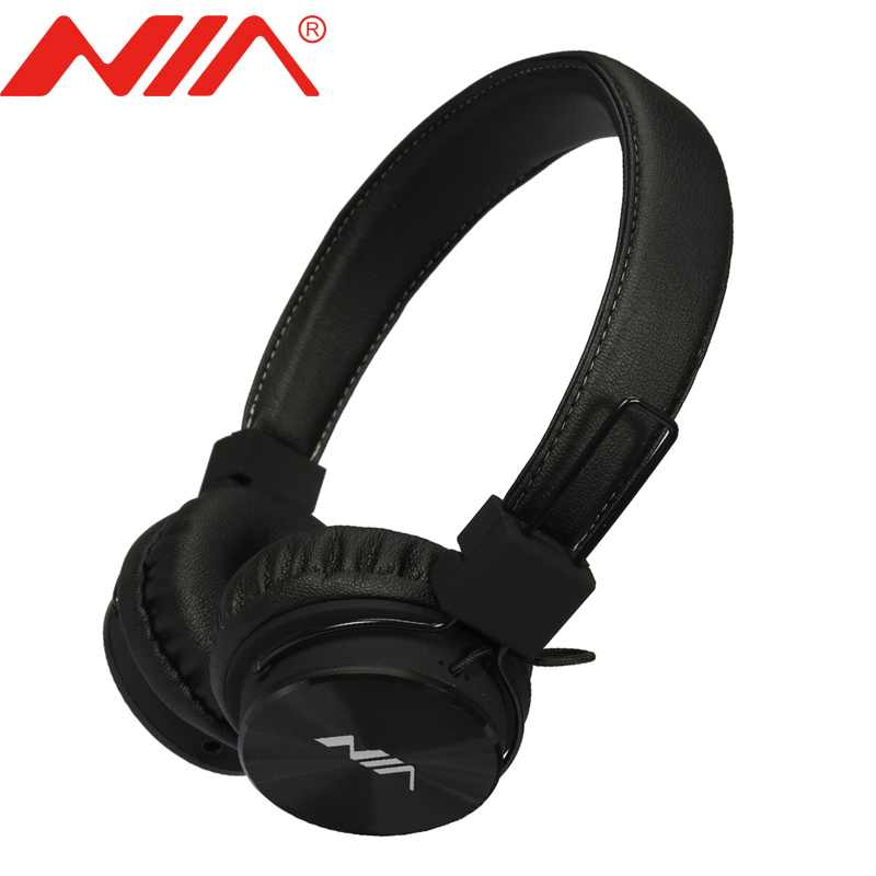 Original NIA A3 Stereo Earphone Original NIA A3 Free Shipping Classical Wired Headsets Foldable Sport Headphones economic set original nia q1 8 gb micro sd card a set bluetooth headphone wireless sport headsets foldable bluetooth earphone