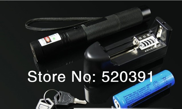 Super Powerful! AAA 532nm 5000mw 5W focusable green laser pointer Burn Matches & Light Cigarettes+charger+gift box+FREE SHIPPING