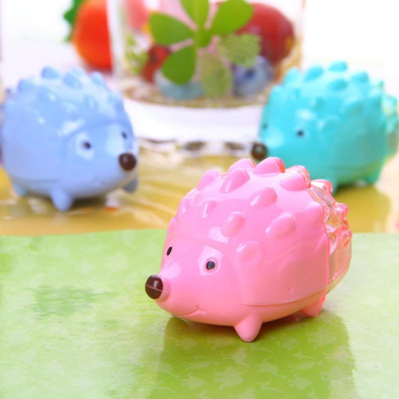 Back To Search Resultsoffice & School Supplies 2019 Latest Design 1pcs Kawaii Hedgehog Design Double Orifice Mini Pencil Sharpener Children Cartoon Pencil Sharpener