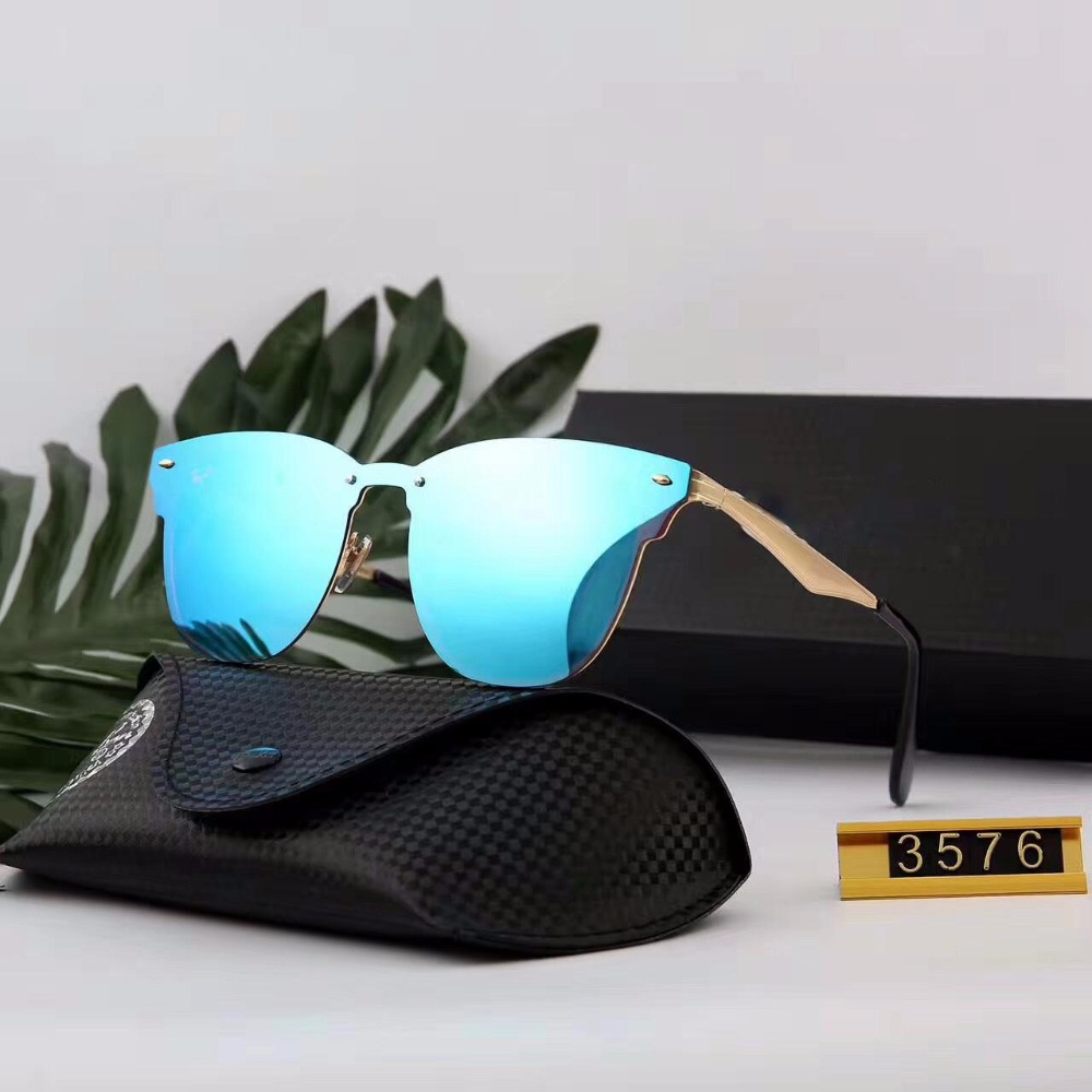 a93aff99487 Top Classic Men women Rayed Hot sunglass Band UV400 Goggles Lady Sun Glasses  aviator Ben Male Female 3576N Clubmastered Eyewear-in Sunglasses from  Apparel ...