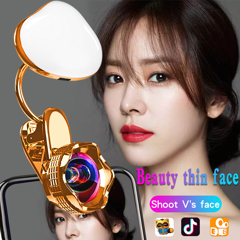 New Mobile Camera Lens for iPhone 6s 7 Portable Selfie LED Flash Light Phone
