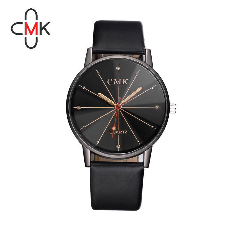 Hot Sale CMK Fashion Luxury Brand Women Watches Diamond Dial Design Woman Clock Leather Belt Quartz Watch Waterproof Girls Gifts hot sale hot sale car seat belts certificate of design patent seat belt for pregnant women care belly belt drive maternity saf