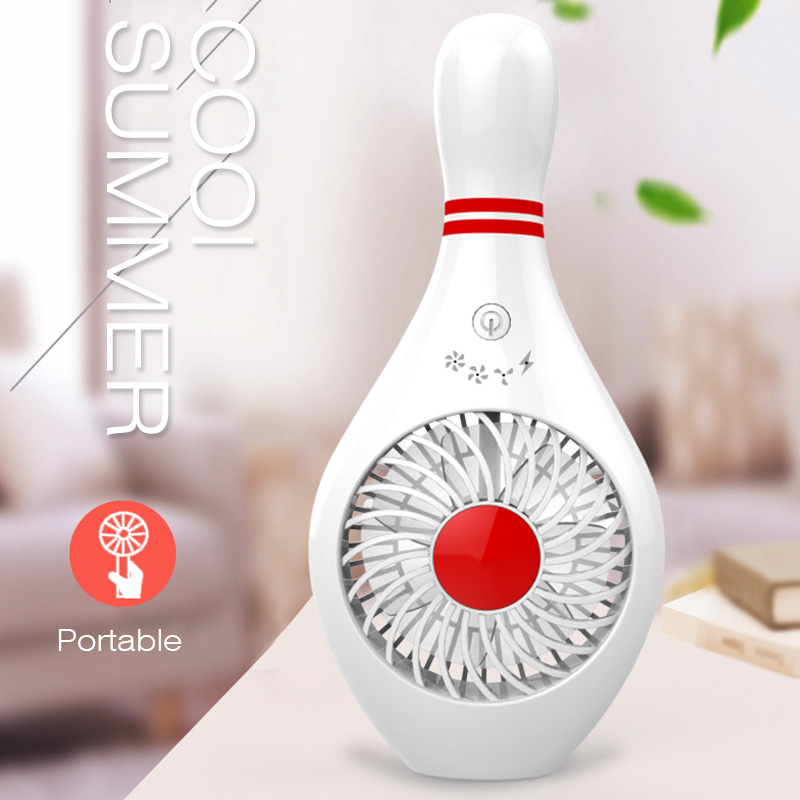 2018 Summer Portable Rechargeable Air Cooler Mini Operated Hand Held USB Battery Cute Fan for PC Laptop Air USB Cartoon Fan hand held usb battery amphibious mini air conditioning fan