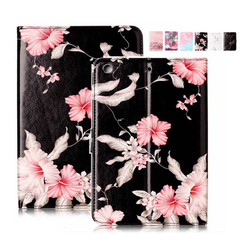 For iPad mini2 mini3 PU Leather 7.9'' Wallet Case Cover Protective Stand Marble Tablet Fundas For Apple iPad mini 2 3 Smart Skin for apple ipad mini 1 2 3 case grape patterns pu leather protective flip rotate tablet pc cover stand coque para housing