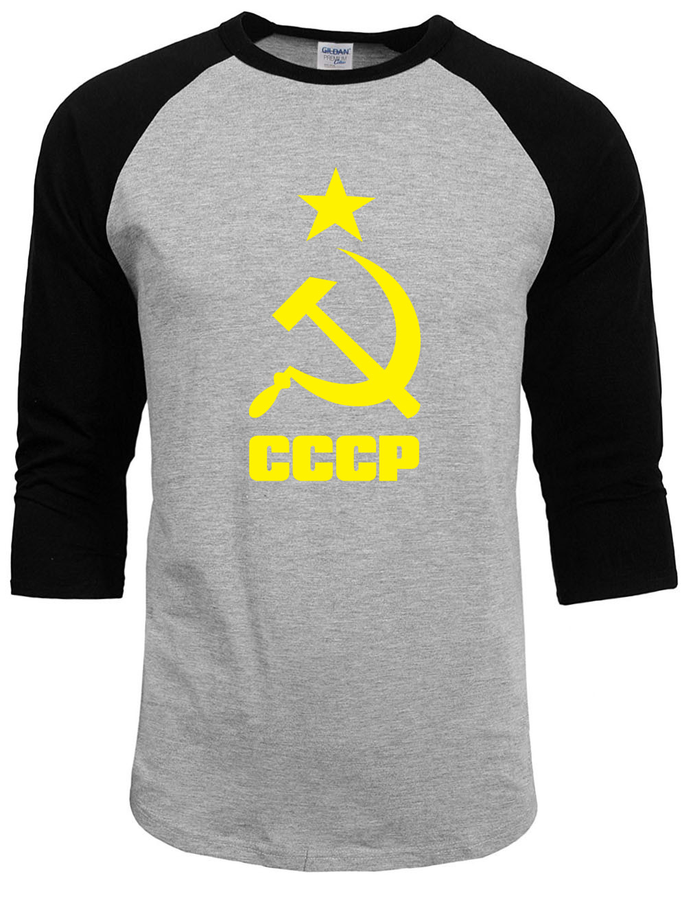Homme T Shirts Hommes URSS Union Soviétique KGB Homme T-shirt Raglan manches Streetwear Drôle T-shirts Streetwear Hipster O Cou Tops Mma pp