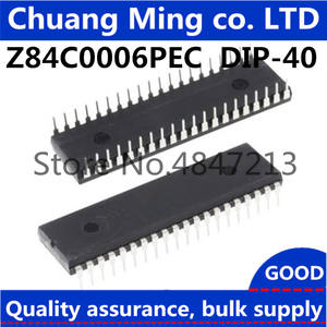 1pcs/lot Z84C0006PEC Z80 CPU DIP-40 In stock, in large supply