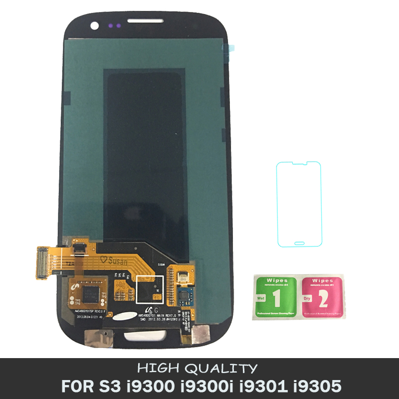 LCDs 100% Tested Working AMOLED LCD Display  For Samsung Galaxy SIII S3 i9300 i9300i i9301 i9305 Touch Screen Assembly LCDs 100% Tested Working AMOLED LCD Display  For Samsung Galaxy SIII S3 i9300 i9300i i9301 i9305 Touch Screen Assembly