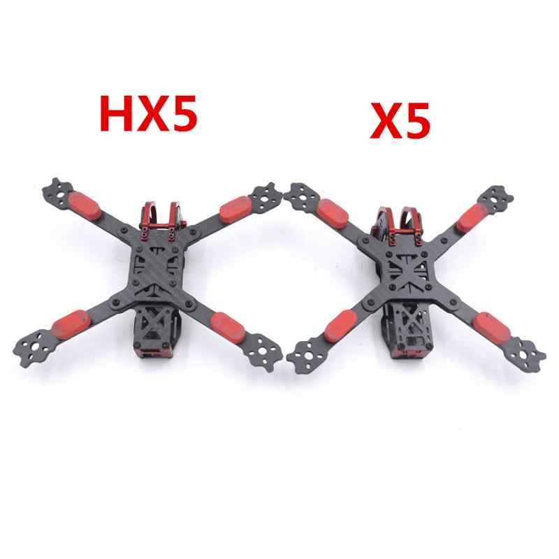 Dragón HX5 X5 220mm 5 pulgadas FPV Racing Frame Kit RC Drone 4mm brazo de fibra de carbono para RC multirotor modelos