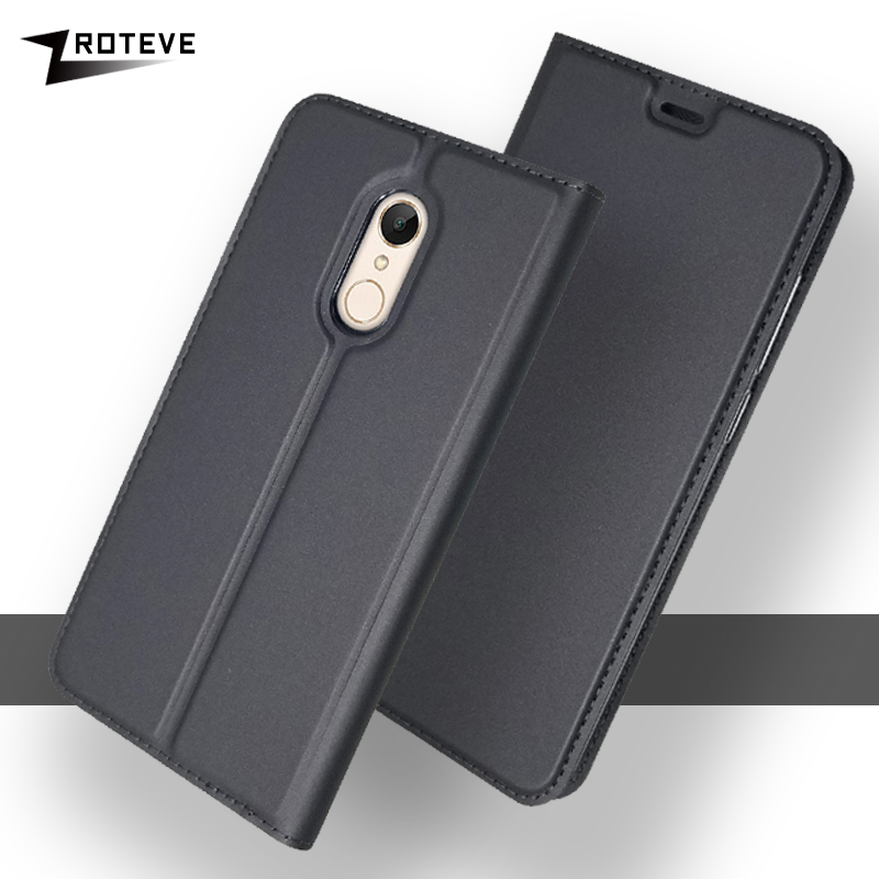 ZROTEVE Xiaomi Redmi <font><b>5</b></font> Plus Global Case Wallet Leather Cover Xiaomi Redmi <font><b>5</b></font> <font><b>2017</b></font> Flip PU Case For Xiaomi Redmi 5a 5plus Cases image