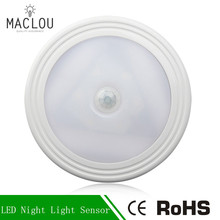 LED Beside Lamp Motion Sensor Activated Night Light Battery Operated for Hallway Pathway LED Wall Lights Auto On/Off For Home