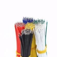 UL 1007 Doble Cabeza Estañado Cable de Cable de puente de la Mosca de Soldadura Electrónica de Alambre cable de alambre Para DIY 6 Colores gallez GA
