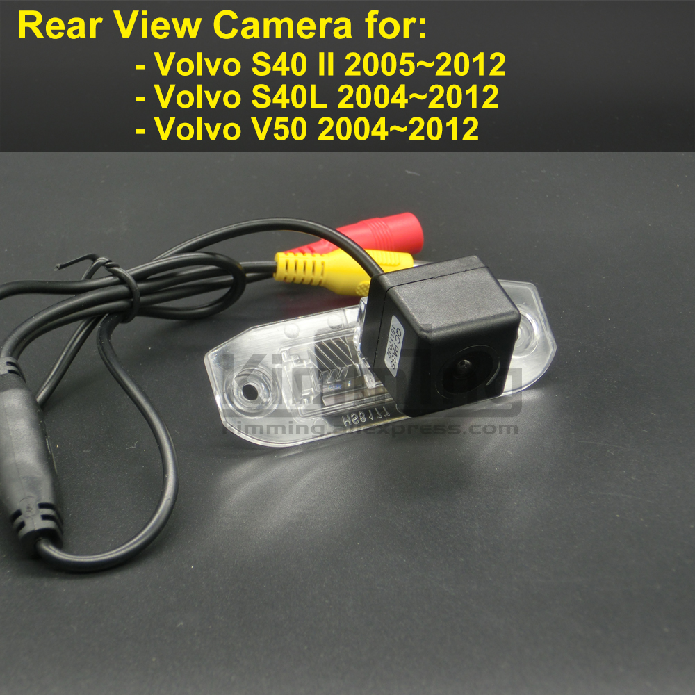 Car Rear View Camera for Volvo S40 II S40L V50 2004 2005 2006 2007 2008 2009 2010 2011 2012 Wireless Reversing Backup Camera
