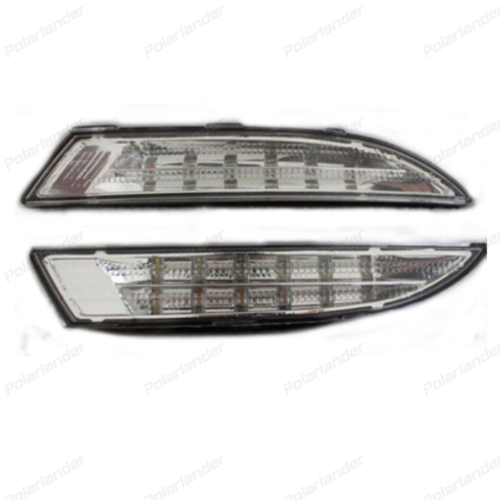 2 pcs Daytime Running Lights Car-styling for V/W R S/cirocco LED DRL 2009-2013 LED Fog Light Front Lamp Auto Accessories.