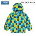 2015NEW Moomin chaquetas para niños primavera Activo Oxford algodón Geométrico rojo reima chaqueta para niños niños ropa meninas 90-130