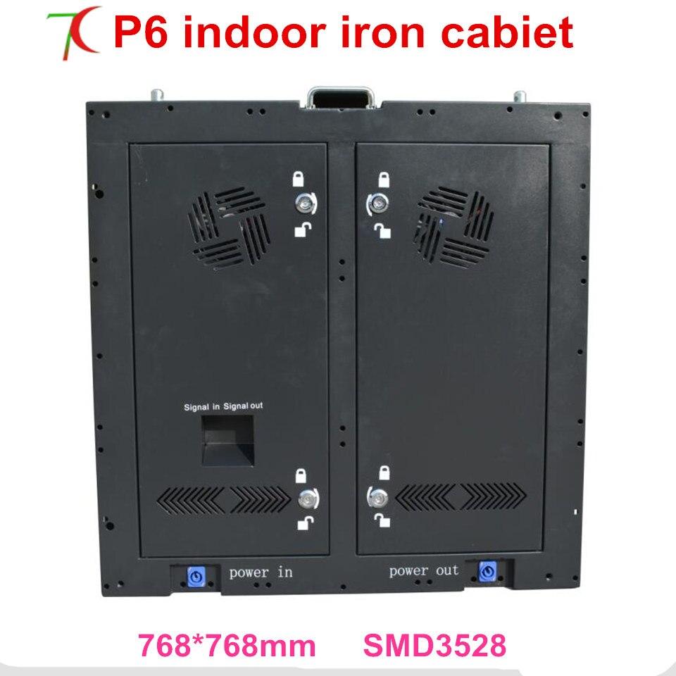 768*768mm indoor P6 16 scan full color display cabinet equipaggiato con porte per fix installazione768*768mm indoor P6 16 scan full color display cabinet equipaggiato con porte per fix installazione