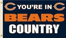 Chicago Bears NFL 3x5 100D FT Bandeira de Poliéster bandeira Do País Da  Bandeira Bronze Grommets023 af88756b2a7ee