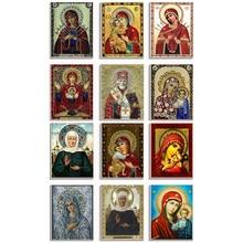 5D DIY Diamond embroidery religious saintess the son of god cross stitch diamond mosaic home decoration painting LXJ