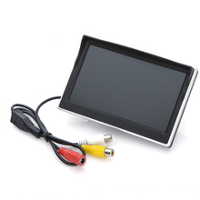 5″ Digital Color TFT LCD Car Reverse Monitor for Rearview Camera DVD VCR
