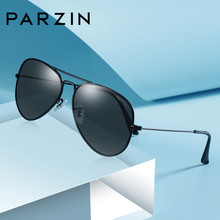 PARZIN Classic Polarized Sunglasses Men Women Driving Brand Designer Pilot Style Alloy Frame Sun Glasses UV400