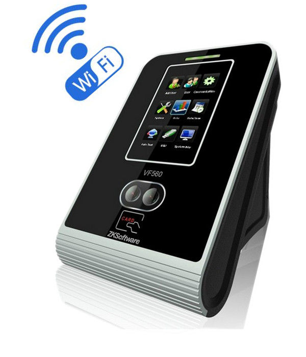 dhl free shipping face fingerprint password time clock attendance english interface zk iface7 face recognition access control ZK VF560 WiFI RFID Card & Face recognition Access Control system ZK Face and Card Time Attendance System With Free Software