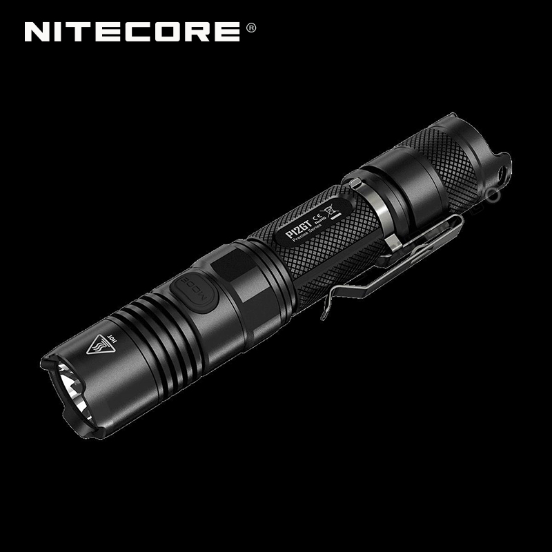 Hot New Arrival Precise Series Nitecore P12GT Portable Tactical Flashlight 1000 Lumens by CREE XP-L HI V3 LED nitecore p12gt cree xp l hi v3 1000 lumens led flashlight for gear military rechargeable led tactical flashlight torch