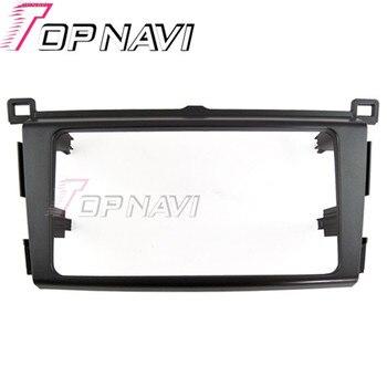 Topnavi 2 DIN Kwaliteit Autoradio Fascia voor Toyota RAV4 2013 AutoStereo Interface Dash CD Trim Installatie