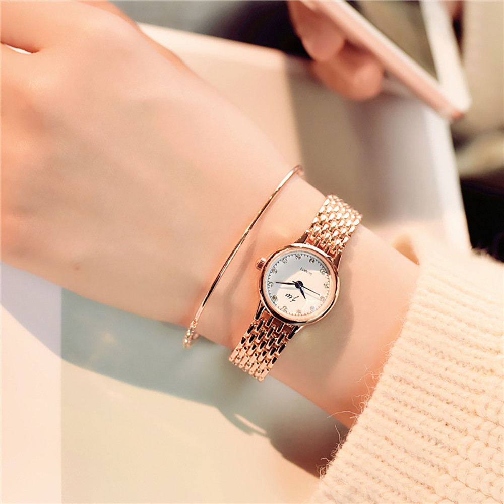 Women Quartz Analog Wrist Small Dial Delicate Watch Luxury Business Watches relogios masculino temperament female watches(China)