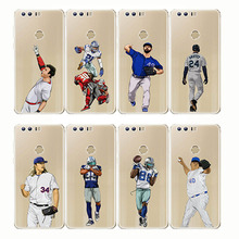 baseball cartoon Bryce Harper soft silicone phone cases cover Capinha Coque fundas capa for Huawei Mate 20 X 10 9 lite Honor